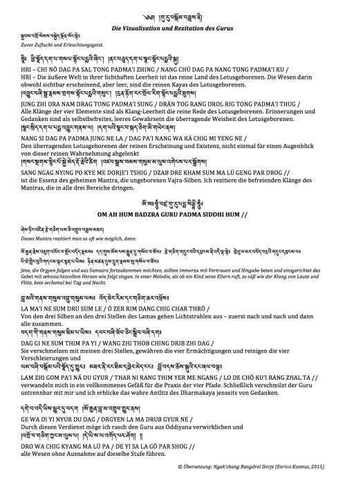 GuruYogaPadmasambhava